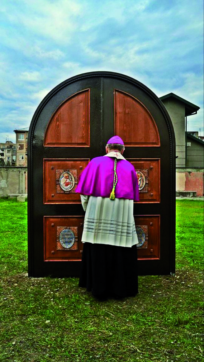 V Gruzínsku otvorili neohraničenú svätú bránu