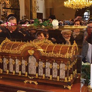 Relikvie sv. Terézie zLisieux si uctili aj vgréckokatolíckej katedrále vPrešove