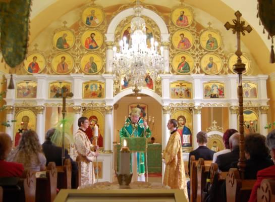V Nižnom Hrabovci posvätili nový ikonostas