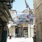 Old_Jerusalem_New_Gate_street_Welcome_Pope_Francis