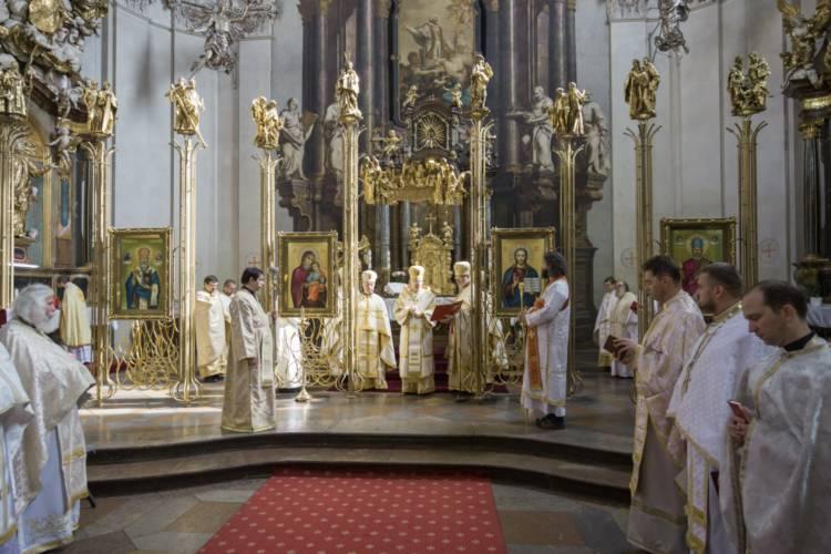 oslava 300 rokov katedrály - september 2015- ikonostas