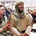 The Red Tent -MOW  Pictured: Rebecca Ferguson, Iain Glen  Shot on location in Morocco, May 2014