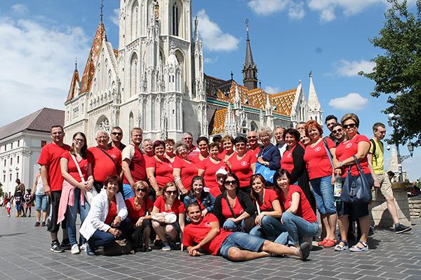 Zboristi z Čemerného vystúpili v Budapešti