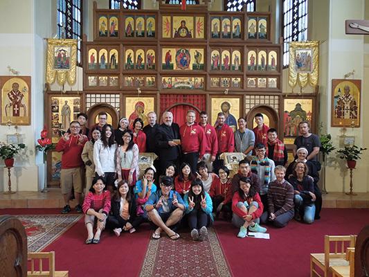 Mládež z Taiwanu navštívila slovenských gréckokatolíkov