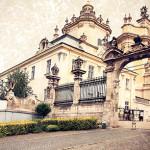 Ukraine. Lviv. Greek Catholic Cathedral of Saint George - the ar