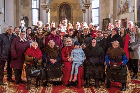 Vladyka Milan Chautur navštívil farnosť Závadka