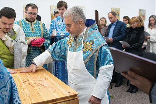 Vladyka Milan Chautur posvätil novozriadenú kaplnku v Družstevnej pri Hornáde