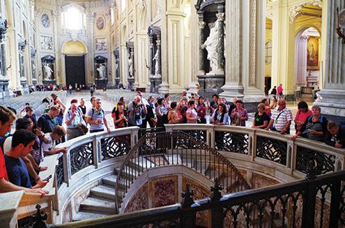 Cirkevná škola sv. Jozafáta putovala k hrobu svojho patróna