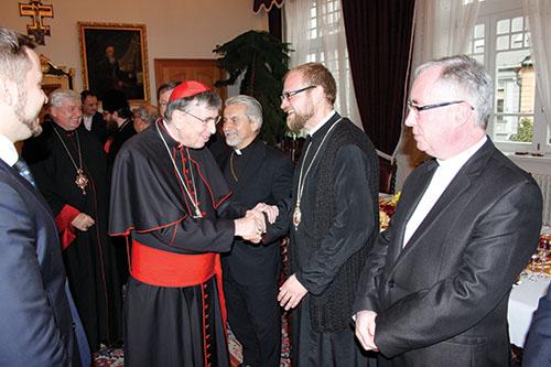 Kardinál Kurt Koch navštívil Prešovskú archieparchiu a stretol sa s predstaviteľmi cirkví na Slovensku
