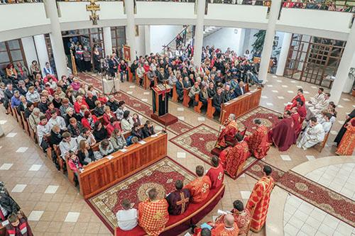 V Sobranciach slávili Liturgiu sv. Jakuba