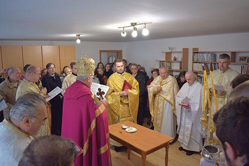V Sabinove posvätili farskú budovu a pastoračné centrum a odhalili pamätnú tabuľu bl. P. P.  Gojdiča