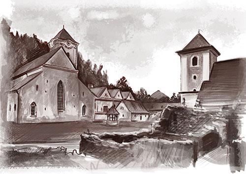 Červený kláštor: Kláštor pustovníkov hory Troch korún