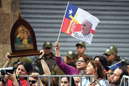 Svätý Otec v Čile a Peru