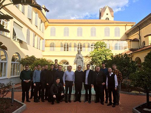 Zbor svätého Romana Sladkopevca v Taliansku