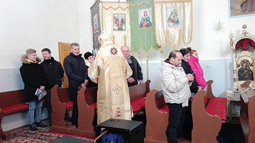 Vladyka Ján Babjak navštívil Cigeľku