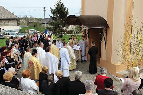 VByšte posvätil vladyka Milan Chautur obnovený chrám