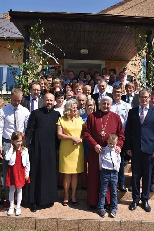 Vladyka Ján Babjak posvätil obnovený chrám vo Vyšnom Hrabovci