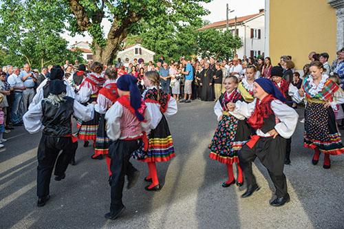 Vladyka Milan Chautur navštívil chorvátsku diecézu Krk