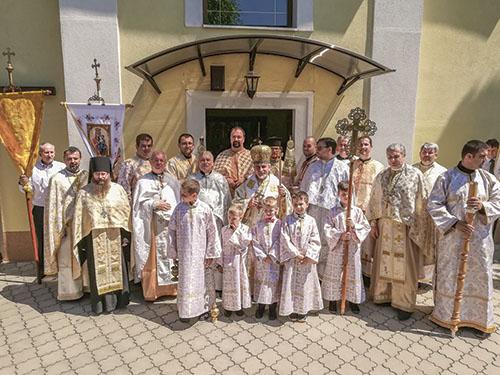 V Belži si pripomenuli 200 rokov od posvätenia farskej cerkvi