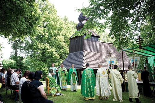 Cerkev sv. Mikuláša vRuskej Bystrej oslávila 10. výročie zápisu do zoznamu UNESCO