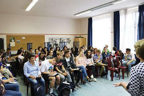 Gymnazisti z Humenného sa zúčastnili na stretnutí v Mátészalke