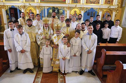 Za účasti vladykov Milana Chautura aMilana Šášika oslávili 200 rokov cerkvi v Trhovišti