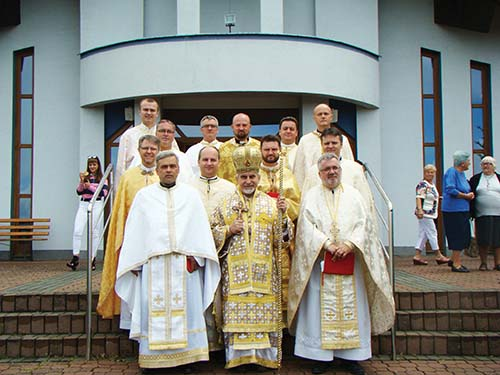 Kňazi Košickej eparchie oslávili 20. výročie kňazstva