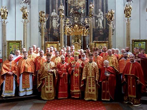 Apoštolský exarchát pre veriacich byzantského obradu vČeskej republike