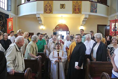VBratislave oslávili eparchiálnu slávnosť sv. Petra aPavla spolu sdiakonským svätením