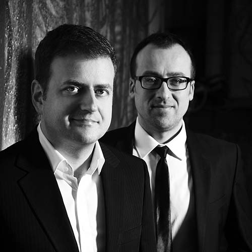 Montenegrin Guitar Duo: Bach English Suites