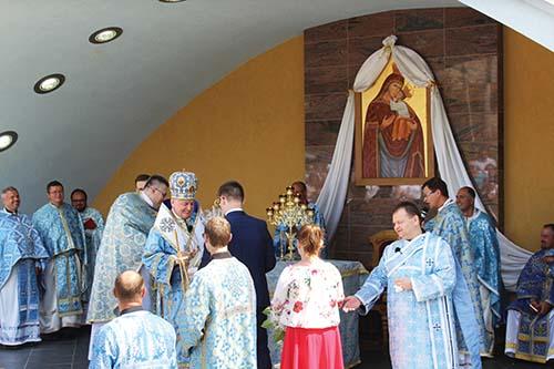 Na odpustovej slávnosti v Šašovej vladyka Ján Babjak posvätil zrekonštruovanú kaplnku