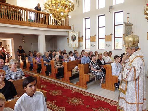 V Malých Ozorovciach oslávili 20. výročie cerkvi
