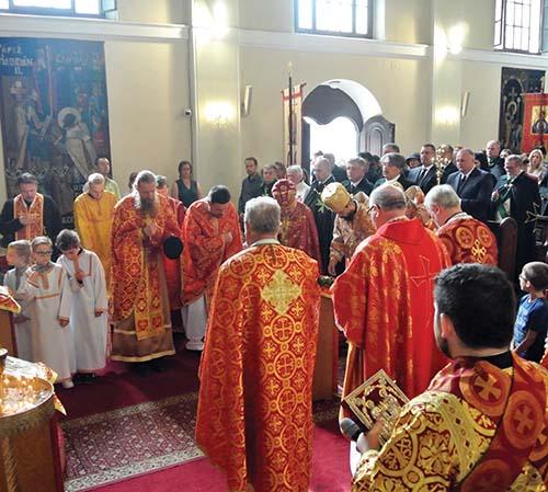 Vladyka Milan Lach zavítal na eparchiálnu odpustovú slávnosť v Bratislave
