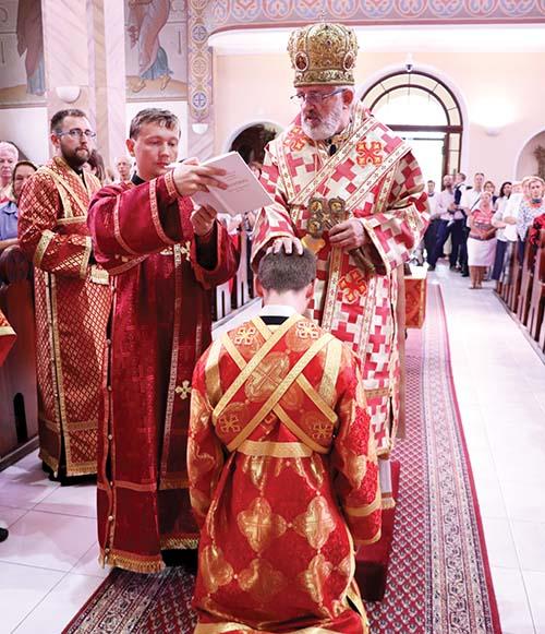 Na odpuste bl. Metoda Dominika Trčku v Michalovciach redemptorista prijal diakonské svätenie