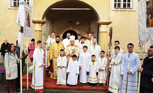 V Stanči oslávili patróna farnosti s vladykom Cyrilom Vasiľom