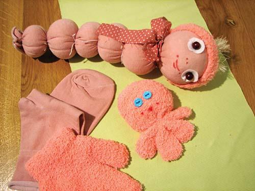 Rukavice a ponožky