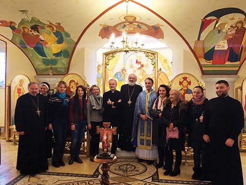 Gréckokatolíci v Rakúsku oslávili rok fungovania misie