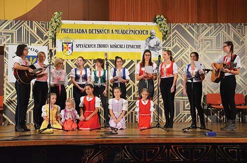 Prehliadka detských a mládežníckych zborov Košickej eparchie