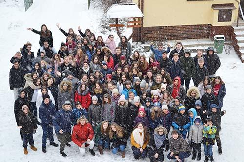 Na Zimnom tábore mladí vytvárali spoločenstvo