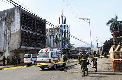 Bombový útok na Filipínach