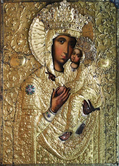 Kyjevsko-bratská ikona Bohorodičky