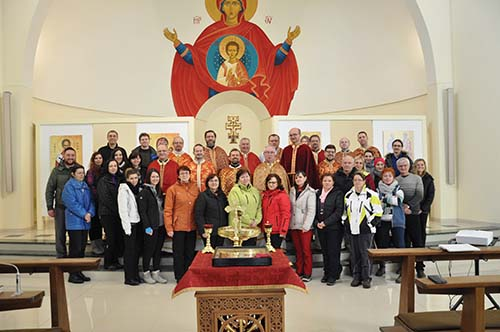 Duchovná obnova zamestnancov Gréckokatolíckej teologickej fakulty