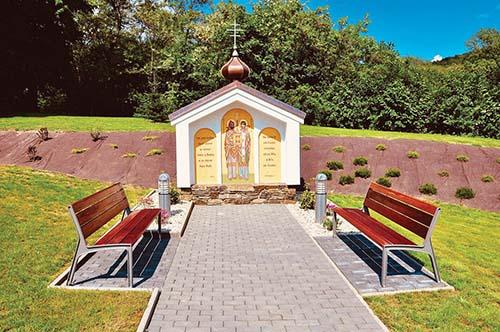 V Petkovciach posvätili kaplnku a areál chrámu