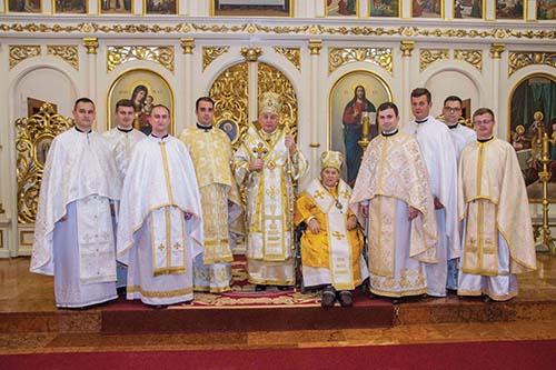 Svätenia v Prešovskej archieparchii
