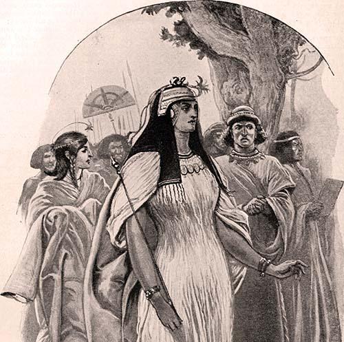 Kráľovná zo Sáby