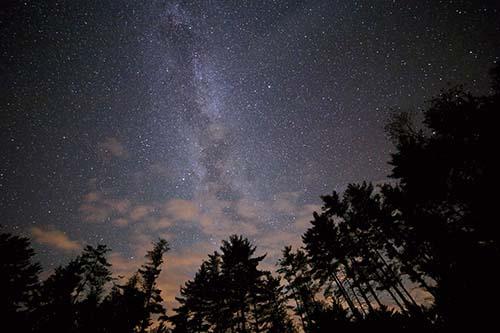 Park tmavej oblohy