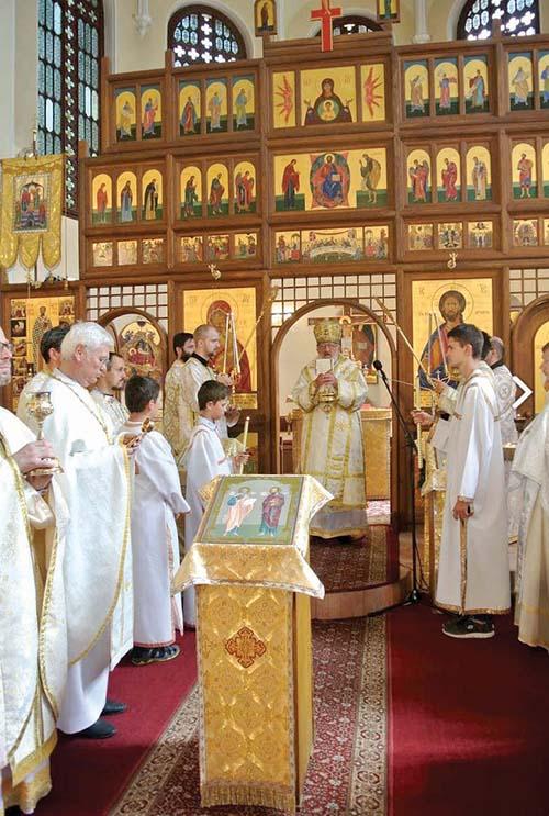Slávnosť patrónov Bratislavskej eparchie