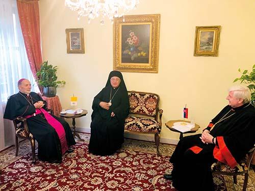 Melchitský patriarcha na Slovensku