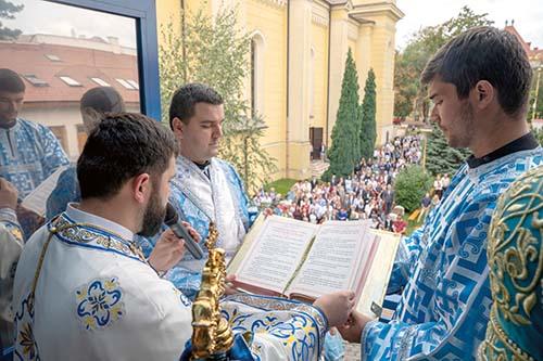 Košická eparchia oslávila Narodenie Presvätej Bohorodičky