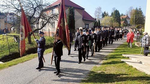 Slávnosť dobrovoľného hasičského zboru